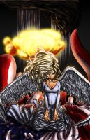 When Angels Cry 9.11.2001 by Matt-Flint