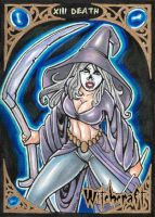Witchcraft Sketch Card - Loren Bobbitt 2 by Pernastudios
