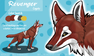Revenger Reference Sheet Commission by InsaneRoman