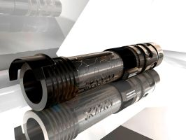 New Force Lightsaber by Danath