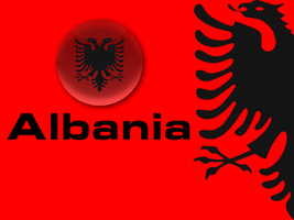 Albanian Flag by terenci