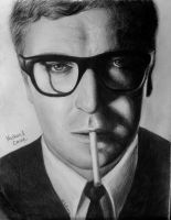 Michael Caine by drEminens