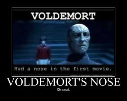 Voldemorts Nose by EPICxFAIL9000