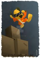 Hong Kong Phooey by D3iv