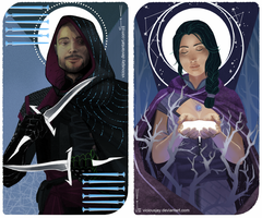 Inquisitor Tarot Card Commission by ViciousJay