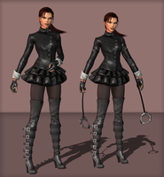LaraSuccubusHeavyV2 and LaraSuccubusLightV2 by tombraider4ever