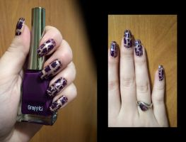 Nails_Violet by Misty-AnGel