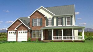 3D Exterior Modeling with Landscaping by outsourcecadservices