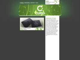 Cupio.dk mainsite by aMyrup