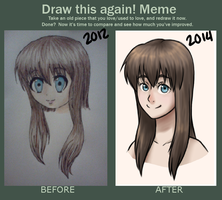 Draw This Again - Meme by Snappieta