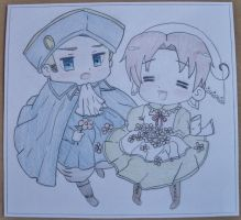 Holy Roman Empire and Chibitalia by Spirit-Senpai