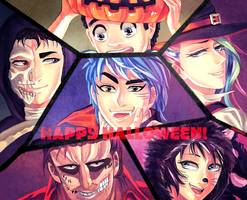 Toriko Halloween by Chumfee