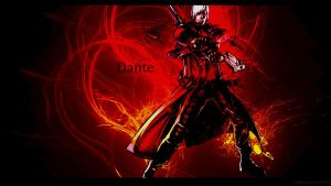 Devil May Cry DANTE HD wallpaper by dizoEX2