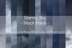 Stormy Sky Pack by LuneBleu-Stock