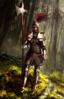 Halberdier by jocker909