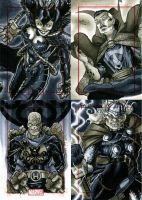 Marvel 70th Sketch Cards -q by RichardCox
