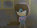 Ace in the rain (animation) by melixa789456123