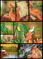 Commission - Lasair Comic Pg6 by SweetLhuna