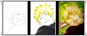 Naruto's Rest.. Step by Step by Ronstadt