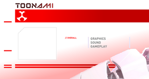 Toonami Game Review Template [RED] by JPReckless2444