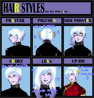 Hair Styles with Ran Shan by takiyaki