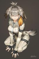 Kemono friends - shoebill by Ramgu
