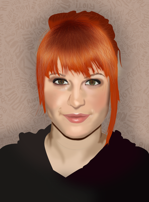 Photography, Photoshop Portraits, and occasional graphics Hayley_Williams_Portrait_by_KatieVengeance