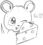 mousey want cheeze? by Riri-Sama