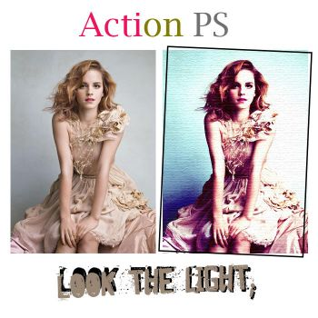 Look the light 'ACTION' by lovedaay