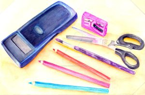 5 Random Things in my Bag by dArkeRiaNnE