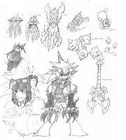 Bugz weapons sheet 2 by nork