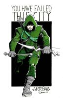 Arrow Commission by frankdawsonjr