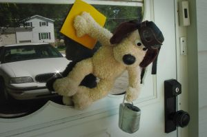 Gromit the window washer by altergromit