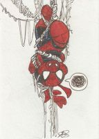 Spiderham by AmberStoneArt