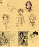 Belle Epoque - sketches by ellaine