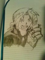 Edward Elric by Fighter3