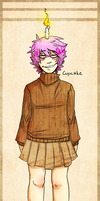 Cupcake Humanized by BlasticHeart