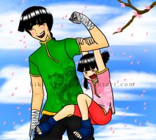My Daddy is Strong -color- by Kiki-Hyuga