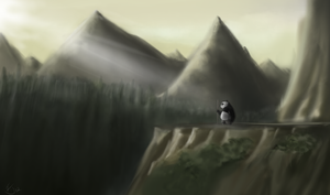 Master Oogway's Calling by fabman132