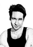 David Duchovny by JeremiahLambertArt