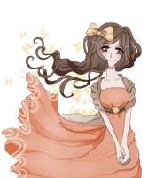 :Comm: Cute Girl - Charity by rosiluna