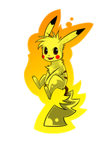 Pikachu by KittyYoungster
