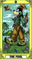 KH Tarot: The Fool by way2thedawn