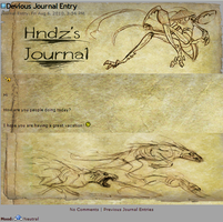 Better Journal skin: 1st by PrincessBetty1