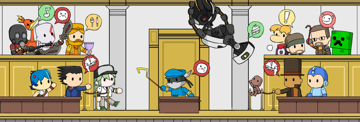 Scribblenautical Courtroom Madness by McGenio