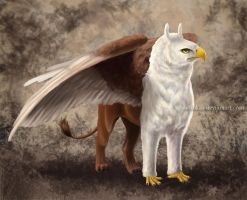 Mythical creature by nadinkas