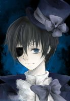 ciel phantomhive by bluerattophat