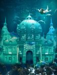 Underwater castle by Hellle