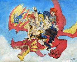 Fairy Tail by Kagoe