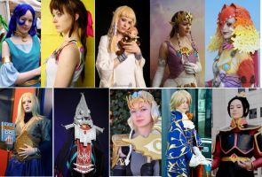my cosplay compilation by Narayu